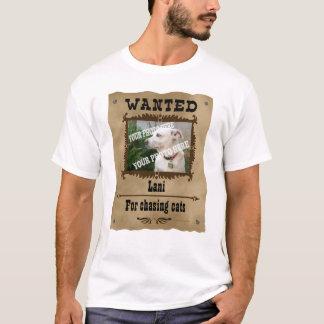 Camiseta Modelo feito sob encomenda querido da foto do