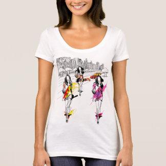 Camiseta modelos de forma