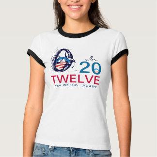 Camiseta Modificação Obama 2012 sim nós fizemos outra vez o