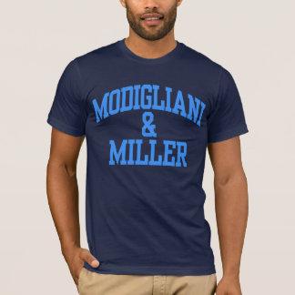 Camiseta Modigliani & Miller - finanças empresariais