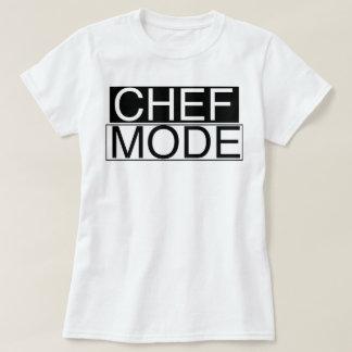 Camiseta Modo do cozinheiro chefe!