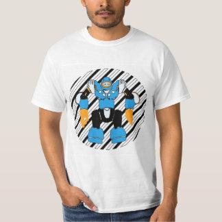Camiseta Modo do robô sobre