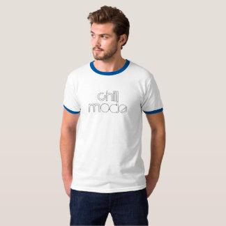 Camiseta Modo frio tipo afligido t-shirt