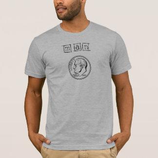 Camiseta Moeda de dez centavos do homem