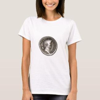 Camiseta Moeda romana antiga Marc Antony