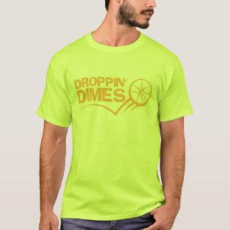 Camiseta Moedas de dez centavos de Droppin