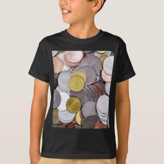 Camiseta Moedas romenas da moeda