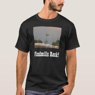 Camiseta Moinho de vento & cerca branca