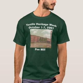 Camiseta Moinho do ponto de entrada/T da semana herança de