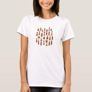 Camiseta Moinhos de pimenta dinamarqueses da teca por Jens
