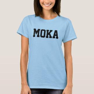 Camiseta Moka nomeou T-shirt