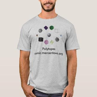 Camiseta Molde de Polytopes