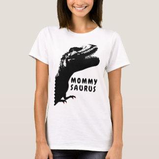 Camiseta Mommysaurus Rex com verniz para as unhas