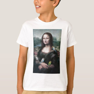 Camiseta Mona Lisa & Budgies