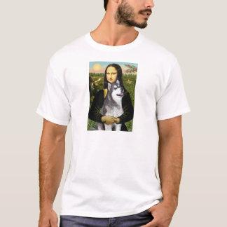 Camiseta Mona Lisa - Malamute do Alasca