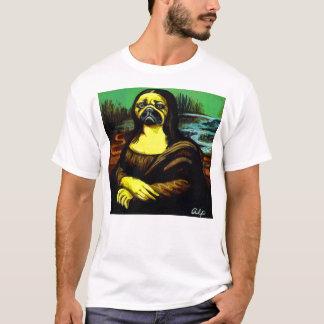 Camiseta Mona-Lisa-Pug $22,95