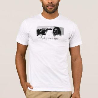 Camiseta MONA, Puxão-ela cara