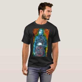 Camiseta Monge louca da história do russo de Grigori
