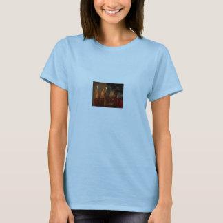 """Camiseta Monges na oração, """"não é poder… - personalizado"""