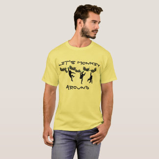 Camiseta Monkey ao redor