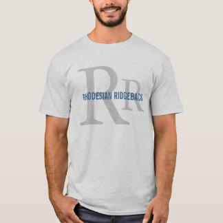 Camiseta Monograma da raça de Rhodesian Ridgeback