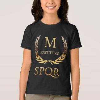 Camiseta Monograma romano