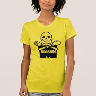 Camiseta Monsanto significa o t-shirt da morte