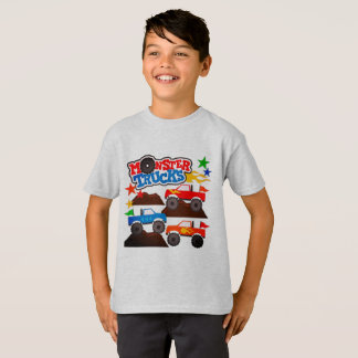 Camiseta Monster truck