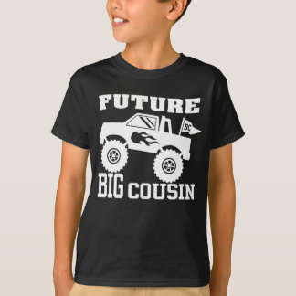 Camiseta Monster truck grande futuro do primo