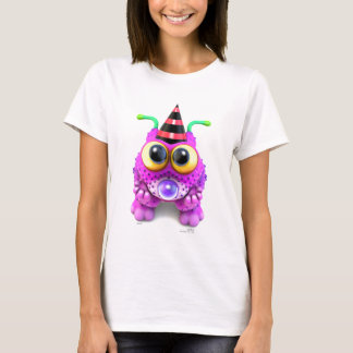 Camiseta Monsterlings - Poof Gots Nones