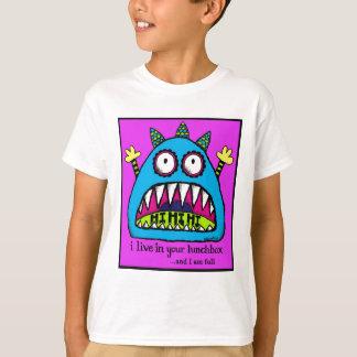Camiseta Monstro da cesta de comida