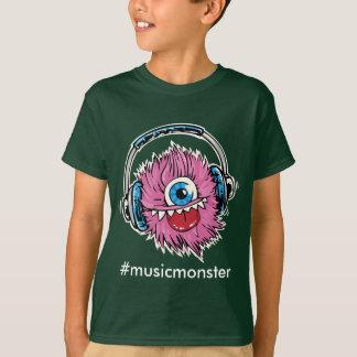 Camiseta Monstro da música