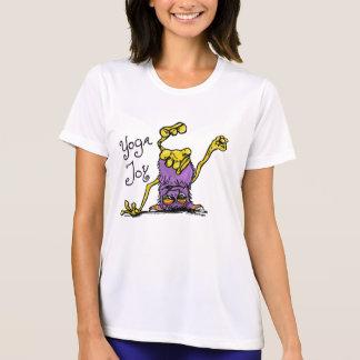 Camiseta Monstro de cabeça para baixo - alegria da ioga no
