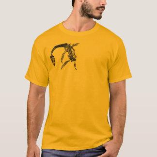 Camiseta Monstro de Loch Ness/t-shirt fóssil de Plesiosaur