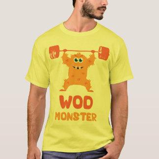 Camiseta Monstro de WOD (monstro bonito do ato de agarrar