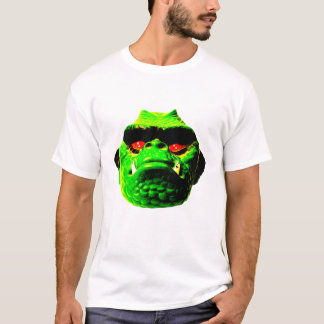 Camiseta Monstro do estiramento