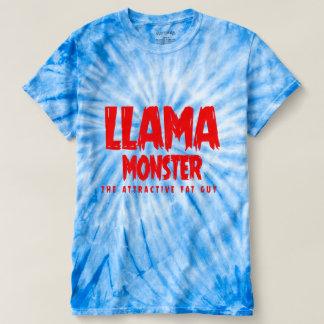 Camiseta monstro do lama (cara gorda atrativa)
