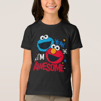 Camiseta Monstro & Elmo do biscoito | yeah, eu sou