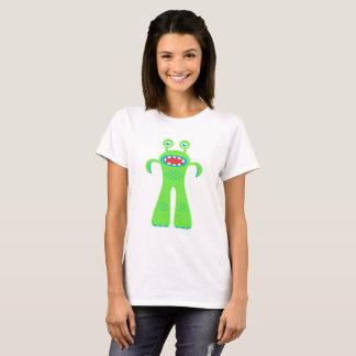 Camiseta Monstro pequeno verde