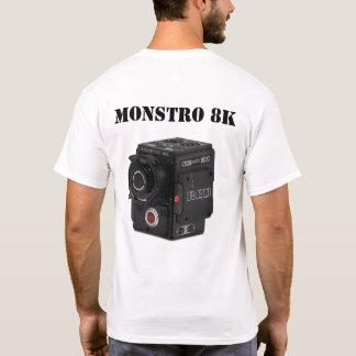CAMISETA MONSTRO VERMELHO 8K