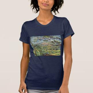 Camiseta Mont Sainte-Victoire por Paul Cézanne (a melhor