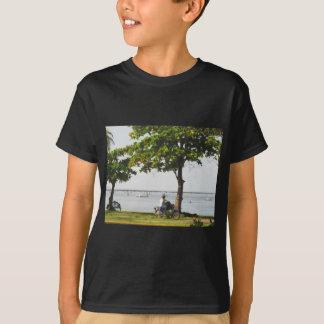 Camiseta Montada no caribe
