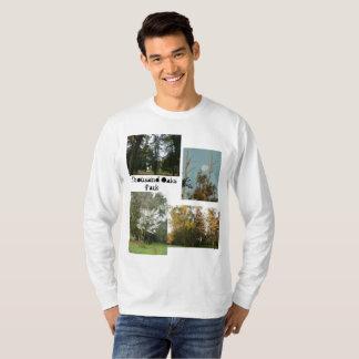 Camiseta Montagem de cénico no parque de Thousand Oaks