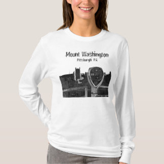 Camiseta Montagem Washington, Pittsburgh, PA