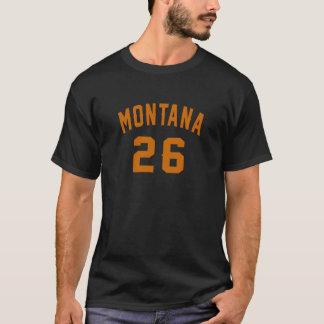 Camiseta Montana 26 designs do aniversário