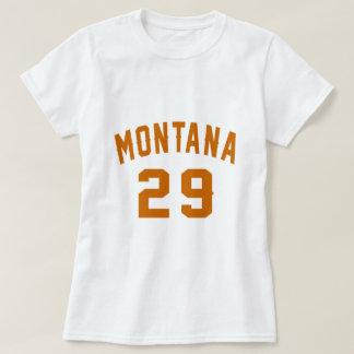 Camiseta Montana 29 designs do aniversário