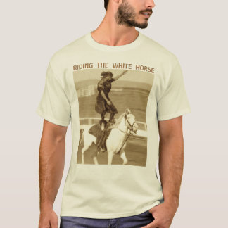 Camiseta Montando o cavalo branco