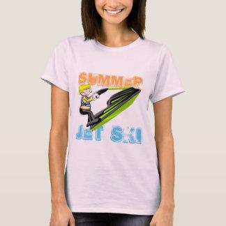 Camiseta Montando um esqui do jato