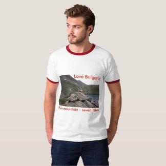 Camiseta Montanha de Rila - amor Bulgária do t-shirt de