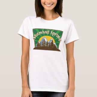 Camiseta Montanha de Steamboat Springs Sun